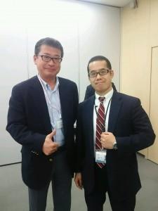 (画像は船井総研・五反田オフィスにて、中野一平さんとのツーショット。)